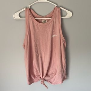 VS PINK front knot tank top